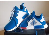 ADIDAS NMD XR1 BLUEBIRD LIMITED EDTION RARE UK SIZE 10.5 USED BUT IN GOOD CONDITION BOXED