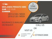 Toyota Prius Wolverhampton Private Hire / taxi rental /hire [ Birmingham Office ]