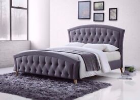 BEST SELLING BRAND*** MERCI BED Double BED/ Kingsize bed DesignerBedAvailable 3 In Different Colors