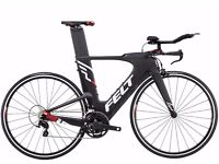 Felt carbon fibre time trial bike A1 16