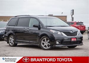 2014 Toyota Sienna SE, One Owner, Safety & E-tested, Clean Carpr