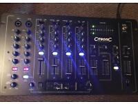Citronic MK professional dj mixer