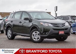 2013 Toyota RAV4 LE, FWD, ONLY 22, 079 KM'S!!, Off Lease, Safety