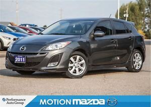 2011 Mazda MAZDA3 SPORT GS LUX Leather Roof Bluetooth