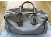 Prada Leather Handbag - £370 ono