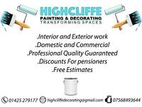 Highcliffe Painting & Decorating Specialist
