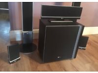 LG Home Cinema Surround Sound and Samsung 50inch HD Plasma TV