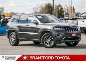 2016 Jeep Grand Cherokee Limited, Balance of Factory Warranty, S