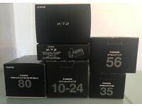 Fuji X-T2 + Lenses