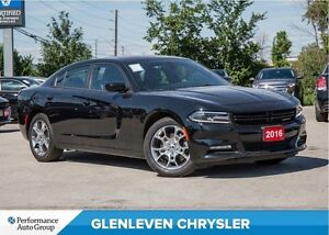 2016 Dodge Charger SXT +   AWD   LEATHER   ROOF   BU CAM