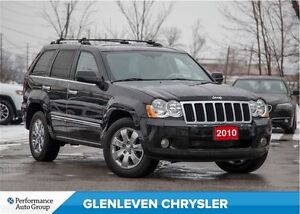 2010 Jeep Grand Cherokee Limited | 4x4 | SUNROOF | UCONNECT BLU