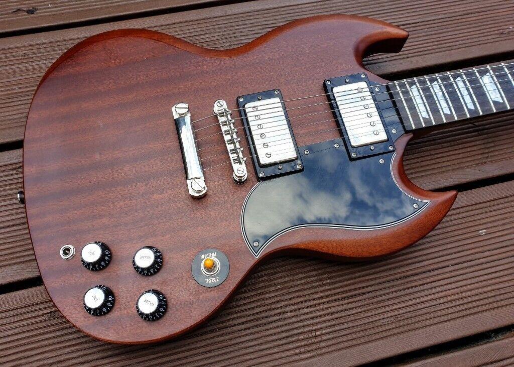 Epiphone SG G-400 Worn Brown