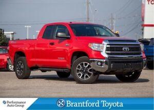 2014 Toyota Tundra TRD Off Road, Dbl Cab, BU Camera, Hard T-Cove