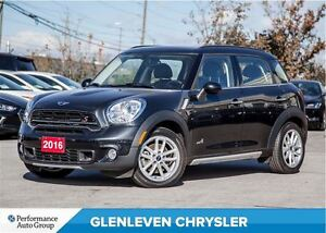 2016 MINI Cooper Countryman S | AWD | PANO ROOF | LEATHER