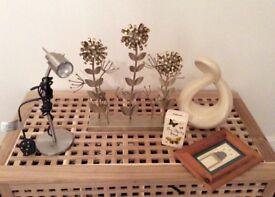 Household Items - Ornaments & Desk Lamp