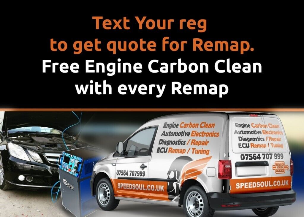 ECU Remap, cloning and repair, Engine Carbon Cleaning service | in
