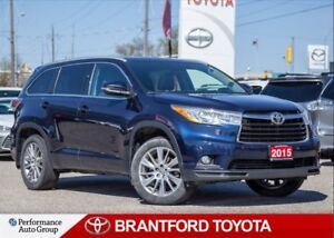 2015 Toyota Highlander XLE, Trade In, Carproof Clean, One Owner