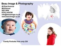 Family Portrait Photography Sessions From Only £30 - Mickleover, Derby, DE3 9HN