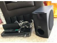 Sony surround sound HCD-DZ280 DVD home theatre system