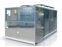 200kw Air source Heat Pump Delonghi Brand New