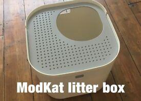 Cat litter box -- ModKat