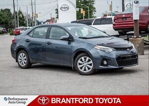 2015 Toyota Corolla S, Off Lease, Only 22785 Kms!!, Carproof Cle