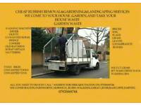 Rubbish and gardening services 07920068744