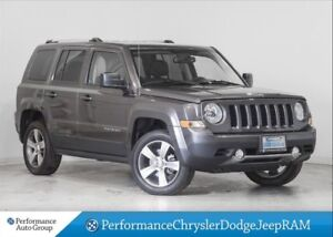 2017 Jeep Patriot HIGH ALTITUDE * SUNROOF * LEATHER * 4X4
