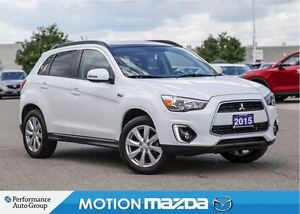 2015 Mitsubishi RVR GT 2.4L Pano-roof+ Winter Tire Pkg