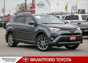 2016 Toyota RAV4 Limited, 4x4, Two Tone Interior, 35722 kms!