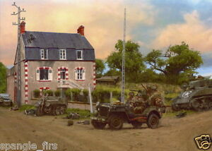 Easy Company 101st Airborne Dead Mans Corner Carentan photo print D-Day