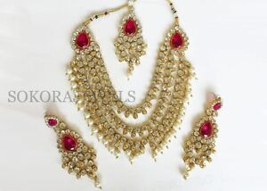 Indian necklace set Silverwater Auburn Area Preview