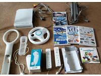 Nintwndo wii with accessories and games. Hardly used so like brand new!