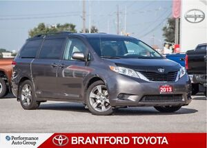 2013 Toyota Sienna LE 8 Pass, 58728 Km's!, Power Sliding Doors