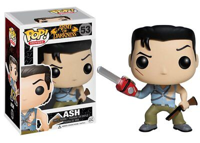 Funko Pop Movies: Army of Darkness - Ash Vinyl Figure Item #3407