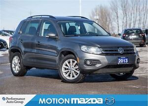 2013 Volkswagen Tiguan 2.0TSI Comfort Leather Roof Navi
