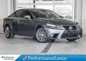 2014 Lexus IS 250 AWD 6A ONE OWNER !!