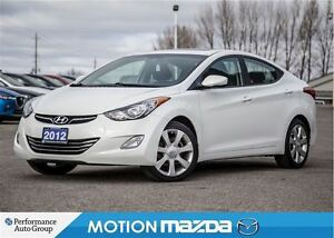 2012 Hyundai Elantra Limited Leather Roof