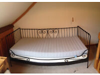 Single bed frame and matress - quick sale wanted