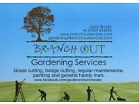 Branch Out Gardening Services - Winchester , Twyford, Kingsworthy and surrounding areas.