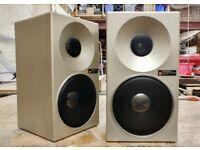 Vintage Technics SB-F3 Metal case bookshelf Speakers