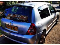 Clio 172 sport for sale 12 months MOT full service history timing belt changed