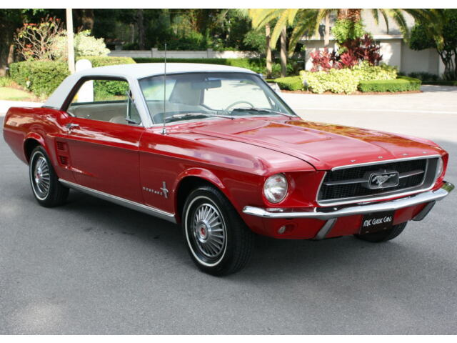 1967 Ford Mustang  LIFETIME CALIFORNIA BEAUTY - 1967 Ford Mustang Coupe - RESTORED