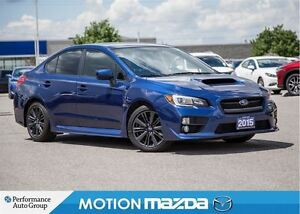 2015 Subaru WRX Sport-tech 6Spd Roof+ Winter Tires