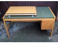 Mid Century drawing desk