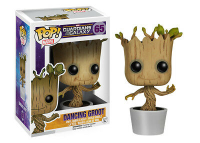 Funko Pop Marvel Guardians Of The Galaxy - Dancing Groot Bobble Vinyl Toy Figure