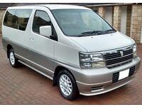 Nissan Elgrand 4x4 3.0 Diesel Automatic MPV Estate