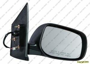 Door Mirror Power Passenger Side Sedan Toyota Yaris 2006-2011