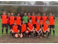 SATURDAY 11 ASIDE FOOTBALL TEAM NOW RECRUITING. PLAY 11 ASIDE FOOTBALL LONDON