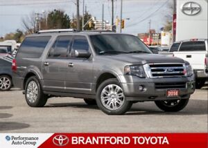 2014 Ford Expedition Max Limited, 4x4, Navi, Leather, Sunroof, H